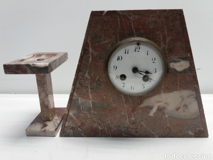 Relojes de carga manual: Reloj de marmol estilo art Deco - Foto 2 - 28701780