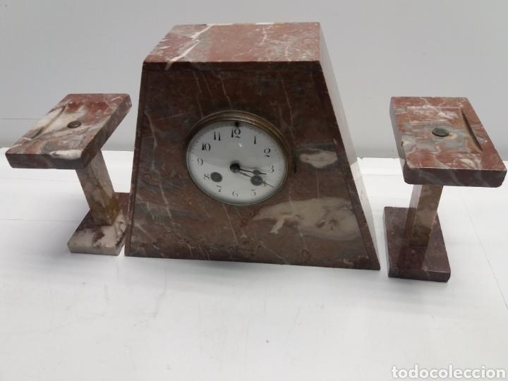 Relojes de carga manual: Reloj de marmol estilo art Deco - Foto 3 - 28701780