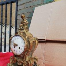 Relojes de carga manual: IMPRESIONANTE RELOJ FRANCÉS LUÍS XV SIGLO XIX BRONCE. Lote 152591988