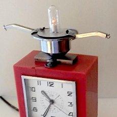 Relojes de carga manual: ANTIGUO RELOJ ELÉCTRICO. ART DECÓ. FUNCIONANDO. Lote 152738498