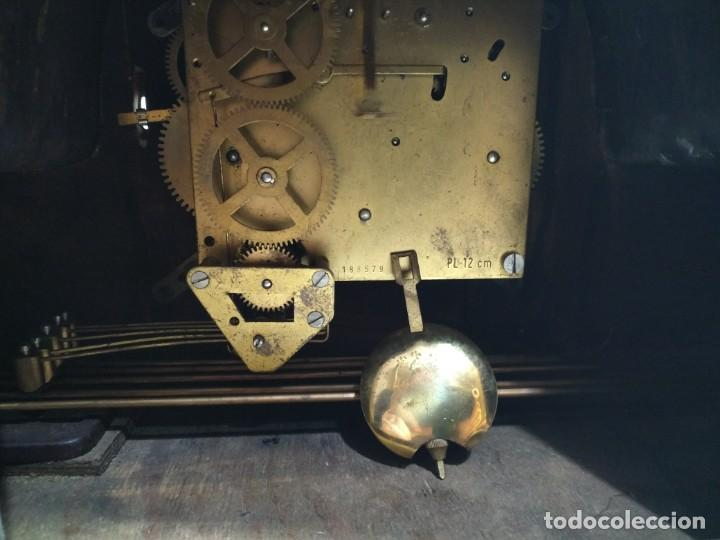 Relojes de carga manual: Imponente Gran reloj de chimenea o sobremesa Royal Westminster - Foto 13 - 152899182