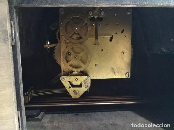 Relojes de carga manual: Imponente Gran reloj de chimenea o sobremesa Royal Westminster - Foto 14 - 152899182