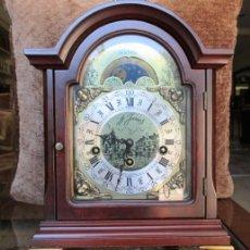 Relojes de carga manual: RELOJ FRANZ HERMLE. FASES LUNARES.. Lote 153330502