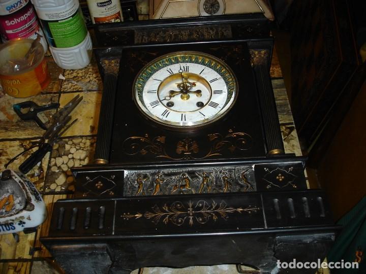 PRECIOSO RELOJ CLASICISTA II IMPERIO VER FOTOS Y DESCRIPCCION (Relojes - Sobremesa Carga Manual)