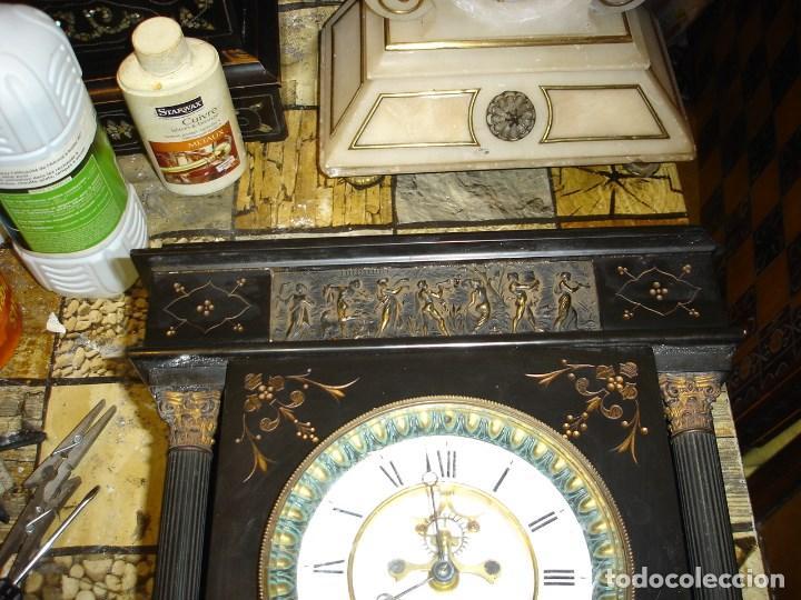 Relojes de carga manual: precioso reloj clasicista II Imperio ver fotos y descripccion - Foto 2 - 153945858