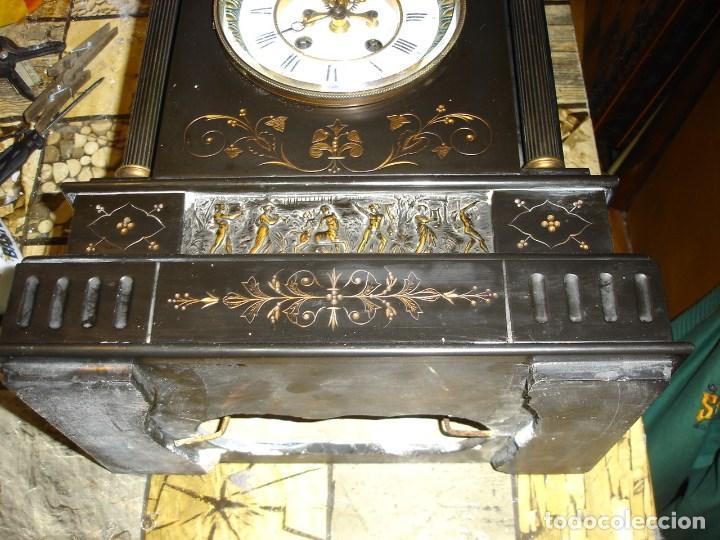 Relojes de carga manual: precioso reloj clasicista II Imperio ver fotos y descripccion - Foto 3 - 153945858