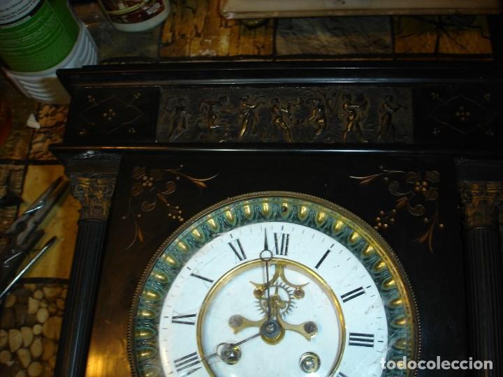Relojes de carga manual: precioso reloj clasicista II Imperio ver fotos y descripccion - Foto 4 - 153945858