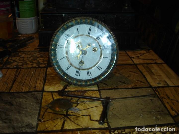 Relojes de carga manual: precioso reloj clasicista II Imperio ver fotos y descripccion - Foto 9 - 153945858