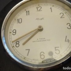 Relojes de carga manual: KIENZLE 8 DIAS CUERDA. CON SOPORTE FIJACION. 8 CMS. ESFERA. EN MARCHA. Lote 154192134