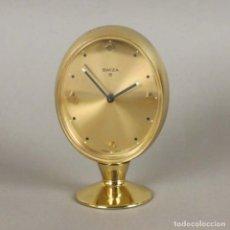 Relojes de carga manual: RELOJ VINTAGE DESPERTADOR SOBREMESA FUNCIONANDO 1950 - 1960 (BRD). Lote 154192486