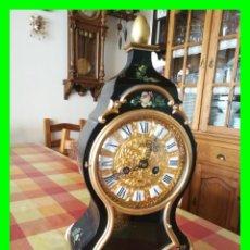 Relojes de carga manual: RELOJ DE SOBREMESA TIPO NEUCHATEL MARCA SCHMID. FUNCIONA CORRECTAMENTE.. Lote 154791526