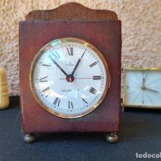 Relojes de carga manual: CAJA DE RELOJ ANTIGUA CON MECÁNICA ELECTRICA. Lote 155203918