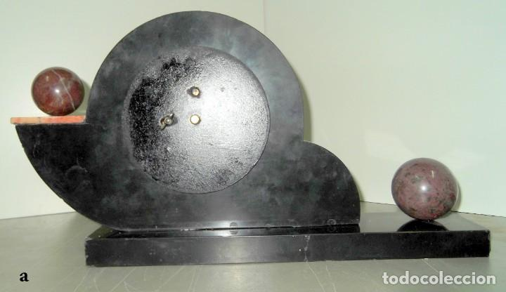 Relojes de carga manual: Magnifico reloj de sobremesa ART-DECO - Foto 2 - 155697562