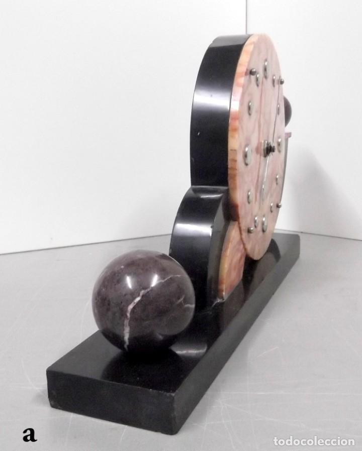 Relojes de carga manual: Magnifico reloj de sobremesa ART-DECO - Foto 3 - 155697562