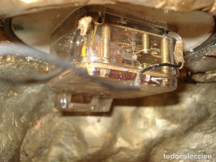 Relojes de carga manual: RELOJ BRONCE: ÁNGELES CON PERRO. ESCENA CAMPESTRE AÑOS 50. RELOJ DE MAQUINARIA A PILAS. - Foto 14 - 155736698