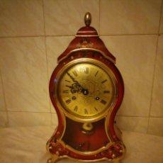 Relojes de carga manual: RELOJ DE SOBREMESA CARGA MANUAL . COMTESSE SWISSE MADE.FUNCIONA PERFECTAMENTE.. Lote 156356458