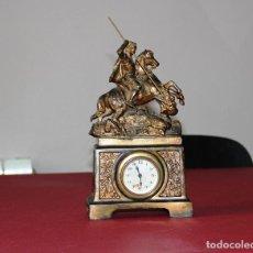 Relojes de carga manual: ANTIGUO RELOJ SANT JORDI Y EL DRAGON. Lote 156536490