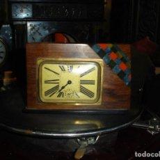 Relojes de carga manual: PRECIOSO DESPERTADOR ART DECO MAQUINA FUNCIONANDO VER FOTOS Y DESCRIPCION. Lote 156786678
