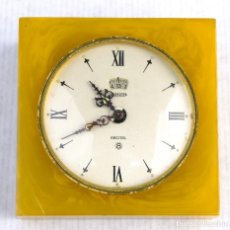 Relojes de carga manual: RELOJ DE MESA JAEGER RECTIAL 8 . Lote 156888370