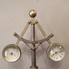 Relojes de carga manual: G CUSPINERA BARCELONA - ANTIGUO RELOJ BAROMETRO SOBRE REGULADOR DE BOLAS - MUSEO COLECCIONISTAS.. Lote 157741714