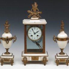 Relojes de carga manual: RELOJ SOBREMESA. SIGLO XIX. Lote 158276122