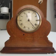 Relojes de carga manual: ANTIGUO RELOJ DE SOBREMESA FRANCÉS , SR FA 8 DAY , MARQUETERÍA. Lote 158540886