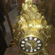 Relojes de carga manual: RELOJ DE BRONCE FRANCÉS AÑOS 40. Lote 158781234