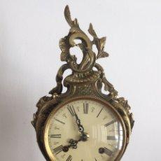 Relojes de carga manual: ANTIGUO RELOJ FRANCÉS DE ÉPOCA EN BRONCE SIGLO XIX. Lote 159859252