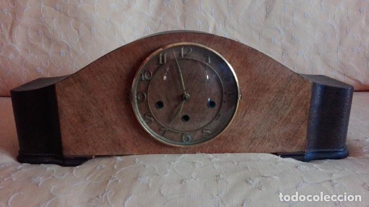 Relojes de carga manual: RELOJ DE SOBREMESA MELODIA WESTMINSTER GRANDE ,TOCA TAMBIÉN LOS CUARTOS. - Foto 2 - 159906298