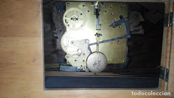 Relojes de carga manual: RELOJ DE SOBREMESA MELODIA WESTMINSTER GRANDE ,TOCA TAMBIÉN LOS CUARTOS. - Foto 4 - 159906298