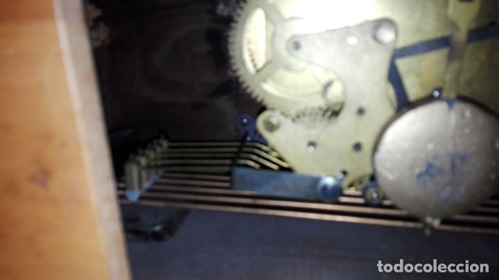 Relojes de carga manual: RELOJ DE SOBREMESA MELODIA WESTMINSTER GRANDE ,TOCA TAMBIÉN LOS CUARTOS. - Foto 5 - 159906298