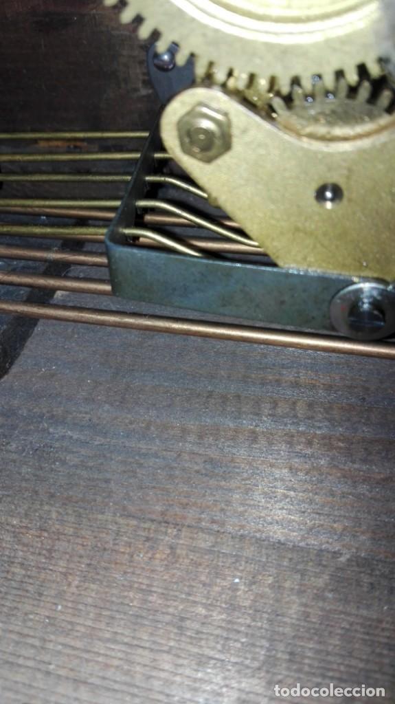 Relojes de carga manual: RELOJ DE SOBREMESA MELODIA WESTMINSTER GRANDE ,TOCA TAMBIÉN LOS CUARTOS. - Foto 14 - 159906298