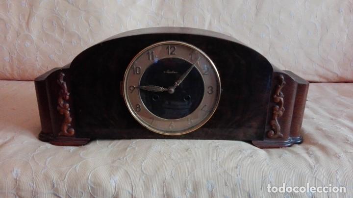 Relojes de carga manual: RELOJ DE SOBREMESA MAUTHE. - Foto 2 - 159908138