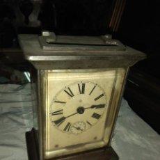 Relojes de carga manual: ANTIGUO RELOJ DE CARRUAJE ANSONIA USA - LEER DESCRIPCIÓN -. Lote 160013650