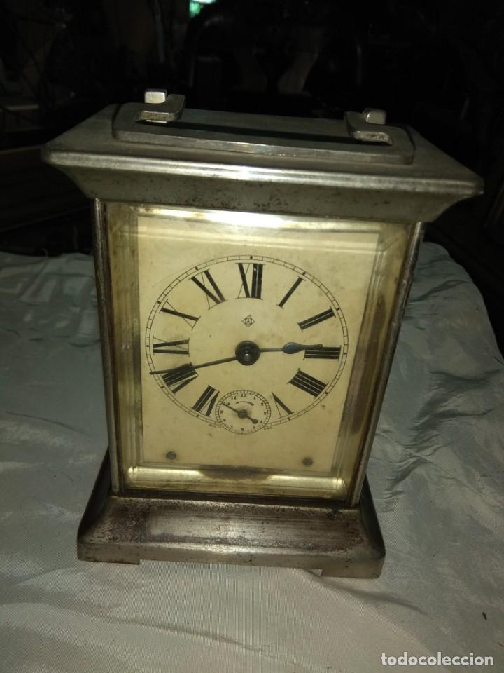 Relojes de carga manual: Antiguo Reloj de Carruaje Ansonia Usa - Leer Descripción - - Foto 2 - 160013650