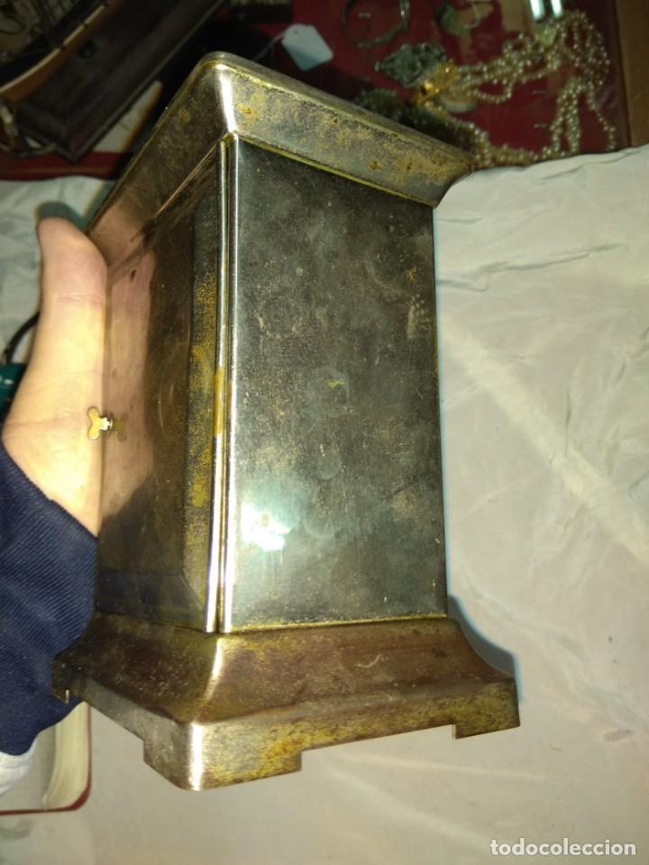 Relojes de carga manual: Antiguo Reloj de Carruaje Ansonia Usa - Leer Descripción - - Foto 5 - 160013650