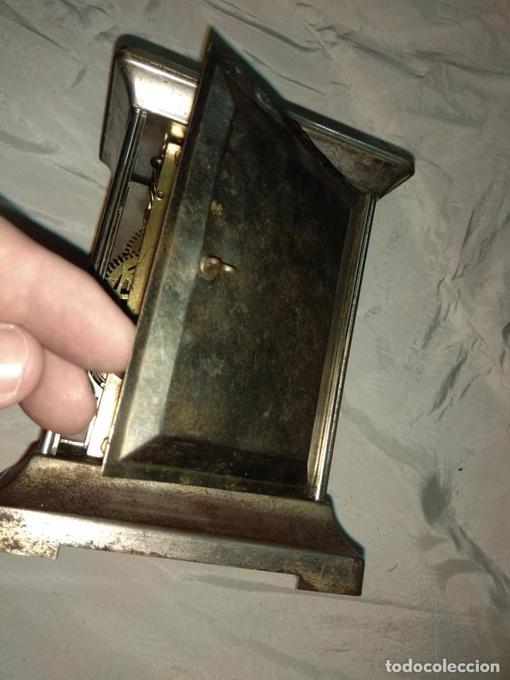 Relojes de carga manual: Antiguo Reloj de Carruaje Ansonia Usa - Leer Descripción - - Foto 6 - 160013650
