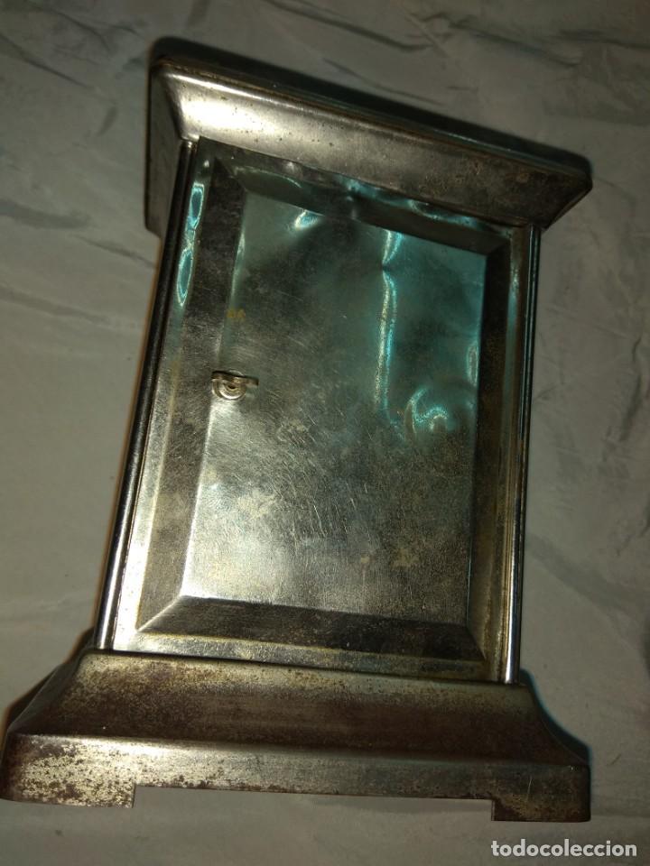 Relojes de carga manual: Antiguo Reloj de Carruaje Ansonia Usa - Leer Descripción - - Foto 7 - 160013650