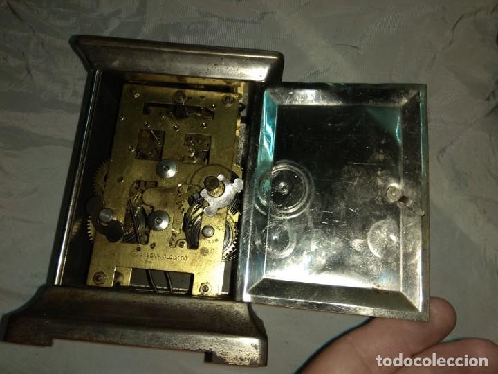Relojes de carga manual: Antiguo Reloj de Carruaje Ansonia Usa - Leer Descripción - - Foto 8 - 160013650