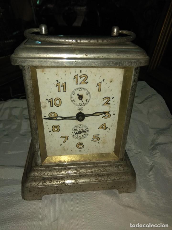 Relojes de carga manual: Antiguo Reloj de Carruaje Junghans Wurttemberg - Leer Descripción - - Foto 2 - 160014770