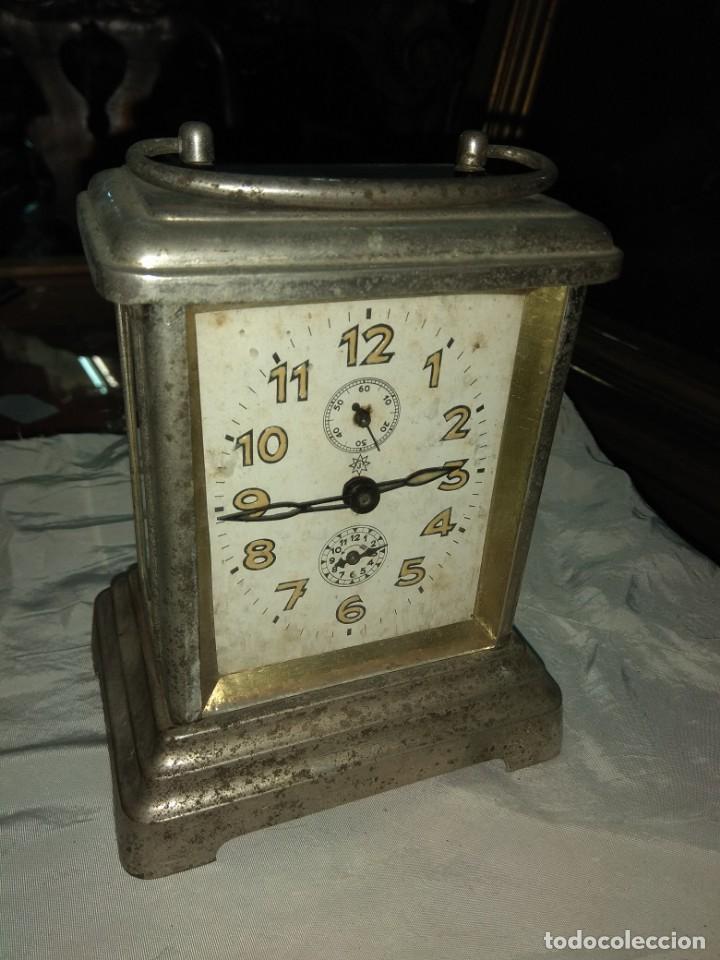 Relojes de carga manual: Antiguo Reloj de Carruaje Junghans Wurttemberg - Leer Descripción - - Foto 3 - 160014770