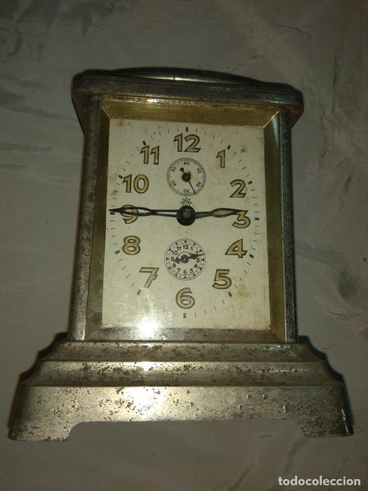 Relojes de carga manual: Antiguo Reloj de Carruaje Junghans Wurttemberg - Leer Descripción - - Foto 4 - 160014770