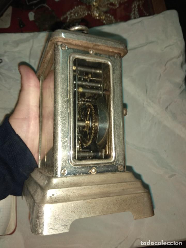 Relojes de carga manual: Antiguo Reloj de Carruaje Junghans Wurttemberg - Leer Descripción - - Foto 5 - 160014770