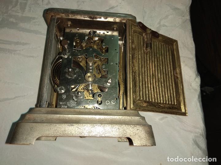 Relojes de carga manual: Antiguo Reloj de Carruaje Junghans Wurttemberg - Leer Descripción - - Foto 8 - 160014770