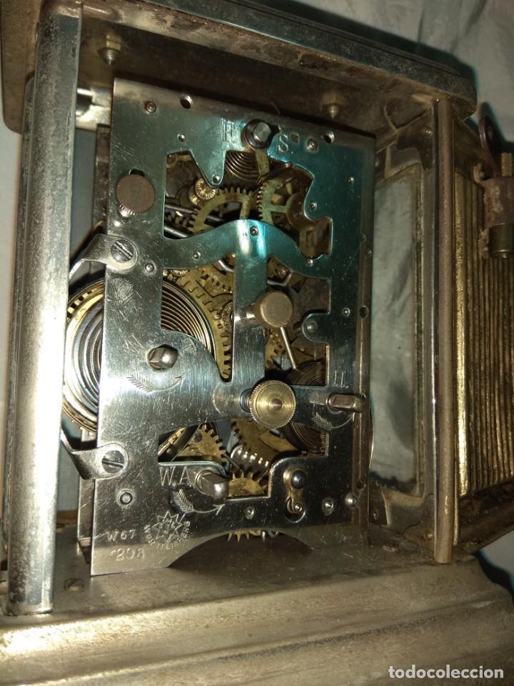 Relojes de carga manual: Antiguo Reloj de Carruaje Junghans Wurttemberg - Leer Descripción - - Foto 9 - 160014770