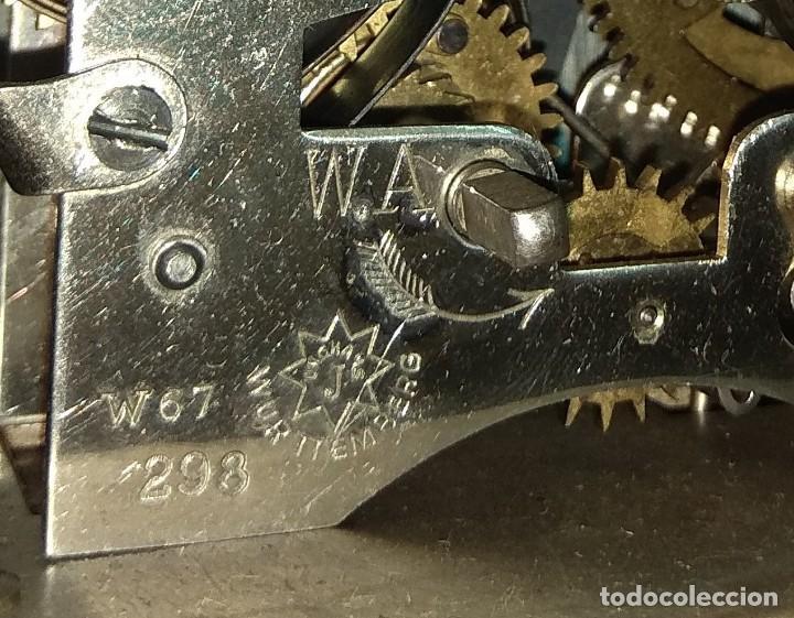 Relojes de carga manual: Antiguo Reloj de Carruaje Junghans Wurttemberg - Leer Descripción - - Foto 10 - 160014770