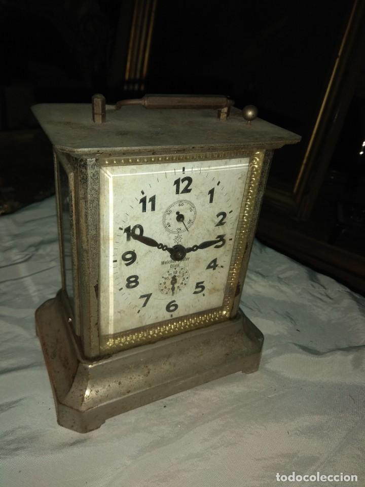 Relojes de carga manual: Antiguo Reloj de Carruaje Junghans - Melchor Fuster - Oliva - Valencia - Leer Descripción - - Foto 2 - 160015394