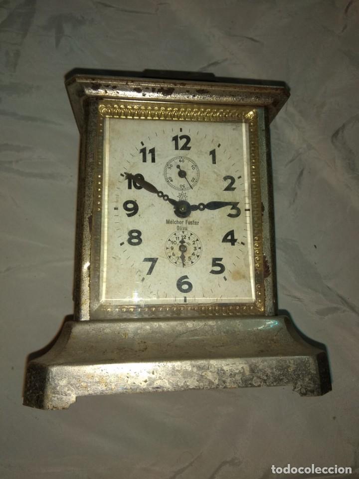 Relojes de carga manual: Antiguo Reloj de Carruaje Junghans - Melchor Fuster - Oliva - Valencia - Leer Descripción - - Foto 3 - 160015394