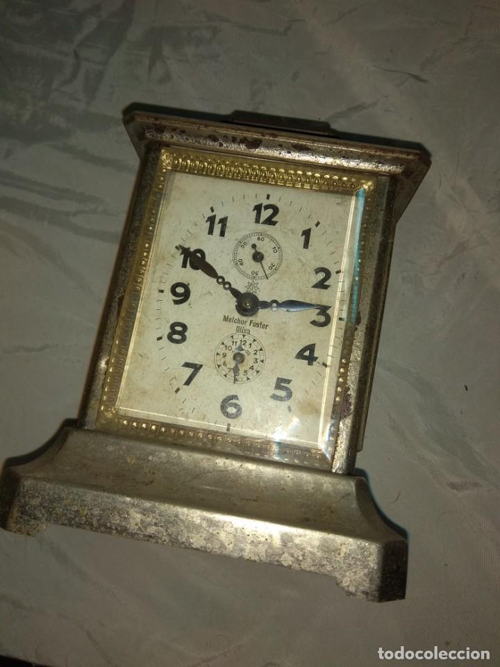 Relojes de carga manual: Antiguo Reloj de Carruaje Junghans - Melchor Fuster - Oliva - Valencia - Leer Descripción - - Foto 4 - 160015394