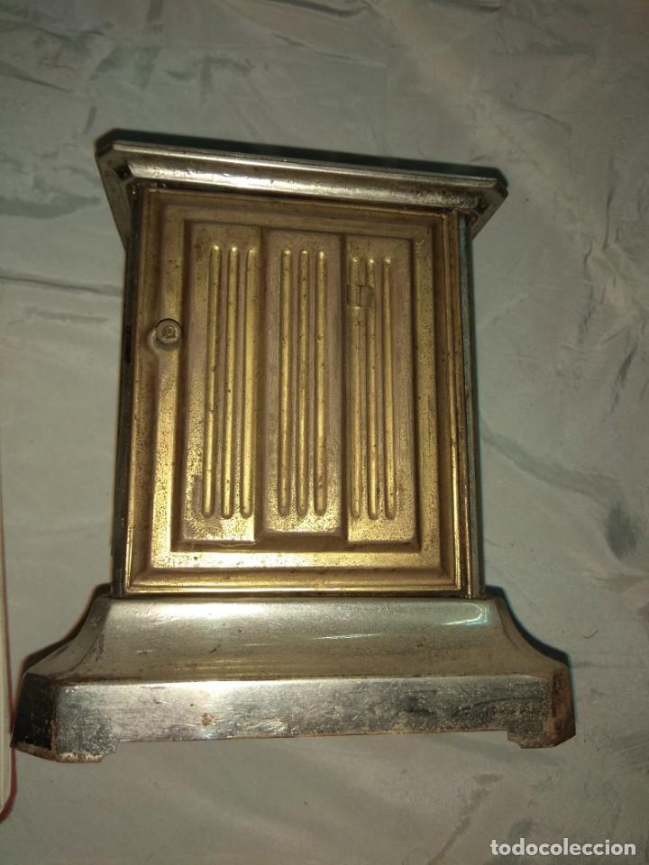 Relojes de carga manual: Antiguo Reloj de Carruaje Junghans - Melchor Fuster - Oliva - Valencia - Leer Descripción - - Foto 6 - 160015394